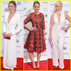 Margot Robbie, Katie Holmes, & Malin Akerman Glam Up for Gotham Awards 2016!