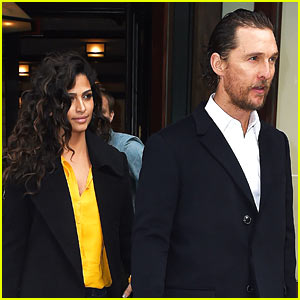 Matthew McConaughey & Camila Alves Step Out for Date Night in NYC