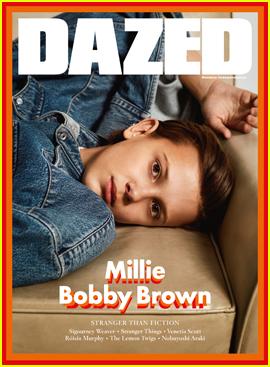 Millie Bobby Brown & Finn Wolfhard Talk 'Stranger Things' in 'Dazed' Mag