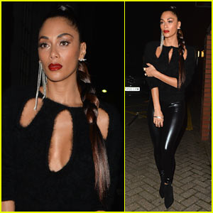 Nicole Scherzinger is Back in the Studio Making Music!