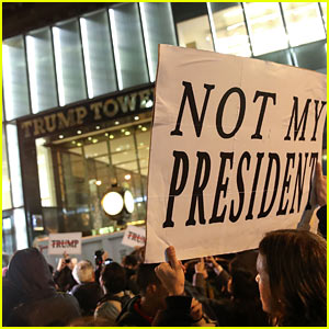 Protests Against Donald Trump Erupt Across America - Celebs React