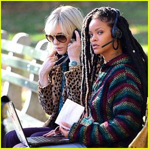 Rihanna Is Tech Savvy for 'Ocean's Eight' with Cate Blanchett!