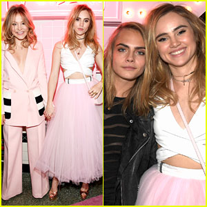 Suki Waterhouse Gets Support from Cara Delevingne & More Celeb Pals at Pop & Suki Launch!