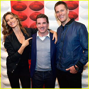 Tom Brady & Gisele Bundchen Celebrate Under Armour Boston Brand House Store Opening!