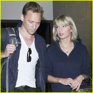 Taylor Swift & Tom Hiddleston Are Reportedly on 'Good Terms'