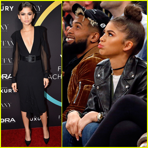 Zendaya Has Basketball Date Night With Odell Beckham Jr.