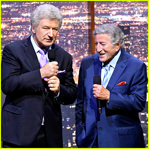 VIDEO: Alec Baldwin Impersonates Tony Bennett at 90th Birthday Concert!