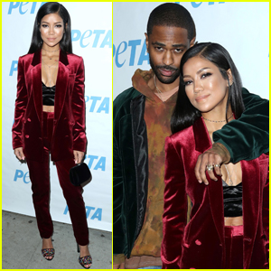 Jhene Aiko & Big Sean Couple Up PETA Exhibition Opening Night