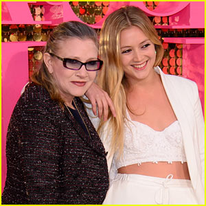 Billie Lourd Says Mother Carrie Fisher Raised Her 'Without Gender'