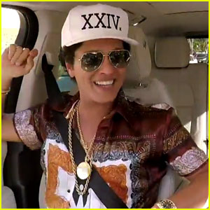 VIDEO: Bruno Mars Does 'Carpool Karaoke' with James Corden!