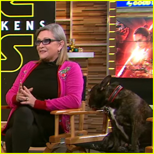 VIDEO: Carrie Fisher Showed Her Sassy Side During 'Force Awakens' Press Tour
