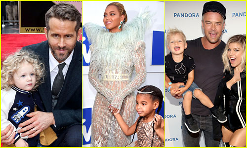 These Celebs Walked Red Carpets with Their Kids in 2016!