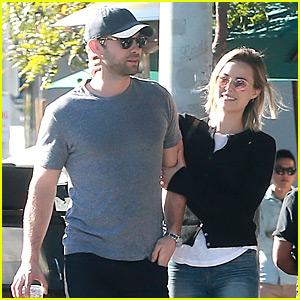 Chace Crawford & Girlfriend Rebecca Rittenhouse Make Such a Cute Couple!