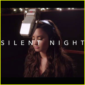 Demi Lovato Sings Amazing Rendition of 'Silent Night'