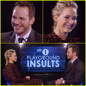VIDEO: Jennifer Lawrence & Chris Pratt Throw Insults at Each Other, Can't Contain Their Laughter!