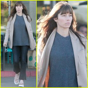 Jessica Biel Hosts 'Luna Petunia' at Au Fudge!