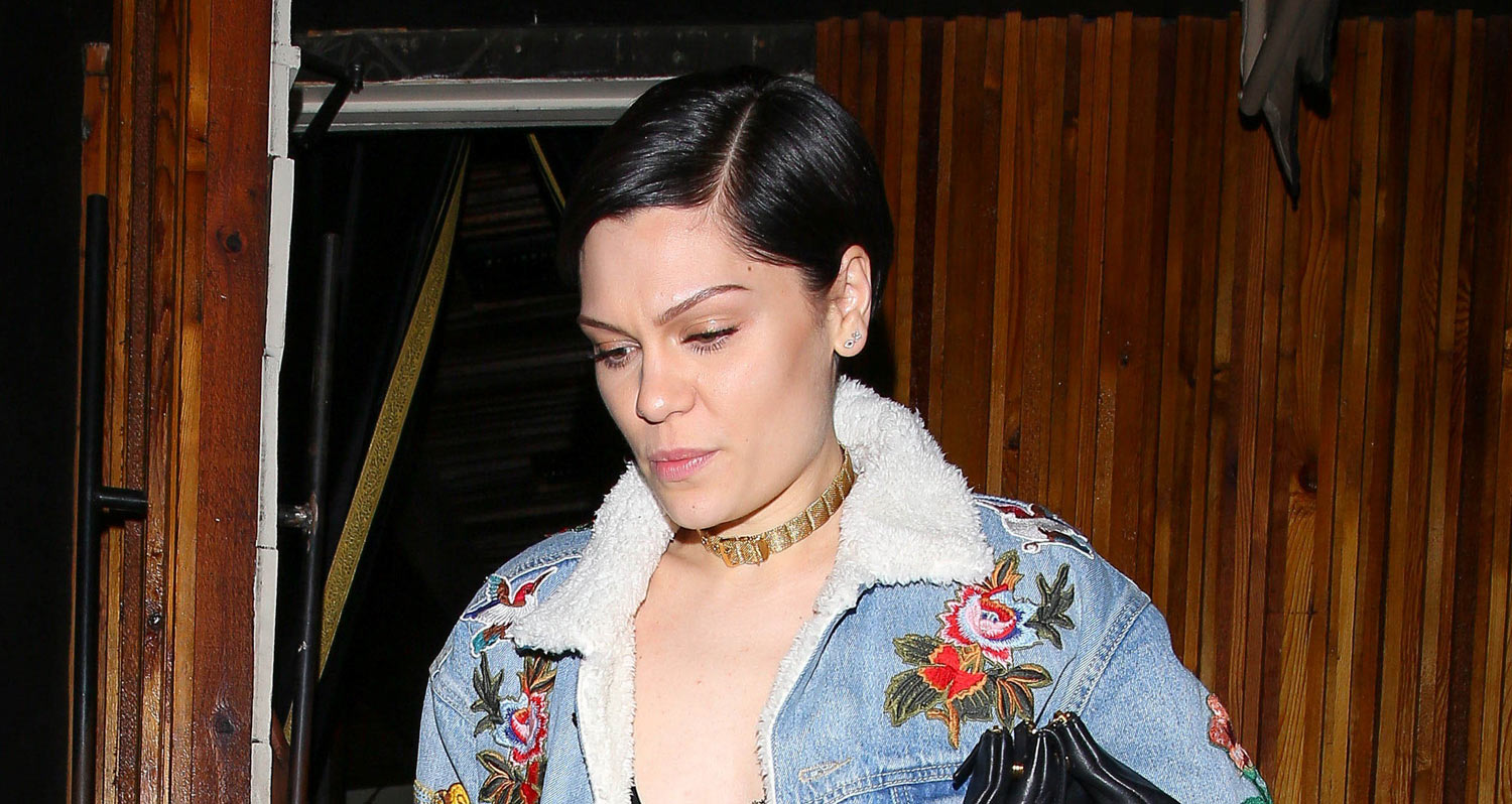 Jessie J Makes a Bold Fashion Statement While Grabbing Dinner
