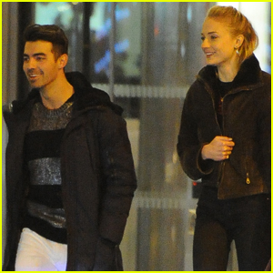 Joe Jonas & Sophie Turner Step Out For Date Night in London