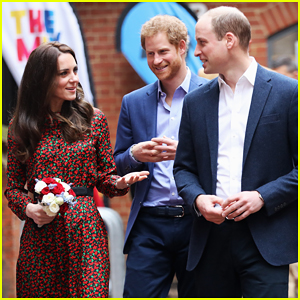 Kate Middleton & Prince William Celebrate Holidays Early At Mix Christmas Party With Prince Harry!