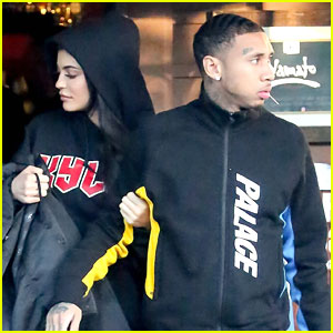 Kylie Jenner & Tyga Go On Sushi Date After Kylie Surprises Assistant
