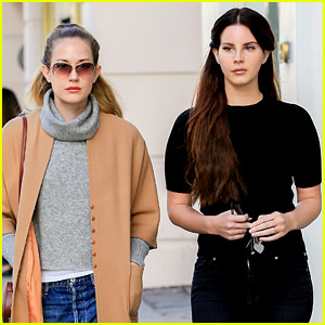 Lana Del Rey Gets In Christmas Shopping with Her Sister Chuck