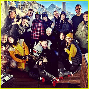 Madonna Shares Family Photos from the Snowy Slopes of Switzerland