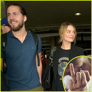 Ti Wedding Ring 48 New Margot Robbie Seemingly Confirms
