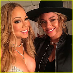 Beyonce & Mariah Carey Share Adorable Selfie Backstage With Their Kids!