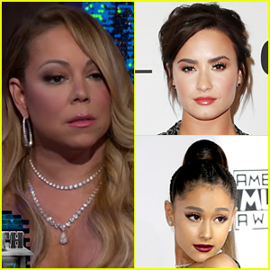 VIDEO: Mariah Carey Throws Shade at Demi Lovato & Ariana Grande on 'WWHL'