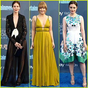Michelle Monaghan, Bryce Dallas Howard, & Gillian Jacobs Are So Chic at Critics' Choice Awards 2016!