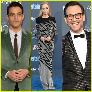 'Mr. Robot' Cast Suit Up for the Critic's Choice Awards!