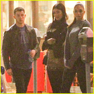 Nick Jonas Hangs Out With Mystery Girl at Bowling Alley!