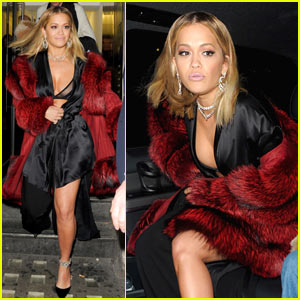 Rita Ora Shows Off Some Serious Leg While Out in London
