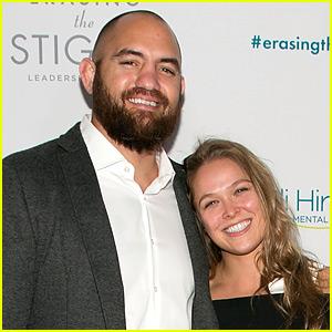 Ronda Rousey's Boyfriend Travis Browne Sends Love During UFC 207 Prep!