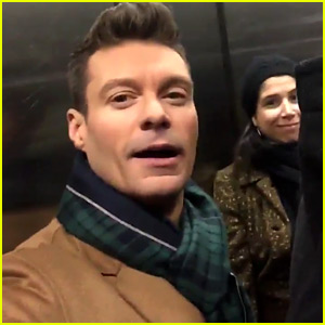 VIDEO: Ryan Seacrest Gets Stuck in Elevator Below Times Square Ball!