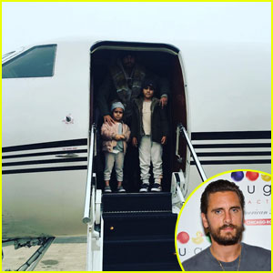 Scott Disick Calls Mason & Penelope The 'Boss' & 'Sunlight' Of His Life