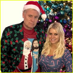 Fabulous Jessica Simpson News Photos And Videos Just Jared Easy Diy Christmas Decorations Tissureus
