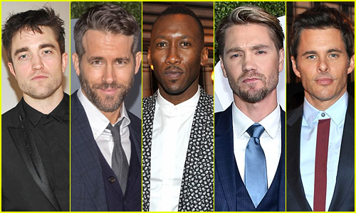 The GQ Men of the Year Party Was a Parade of Hollywood's Hottest Guys!