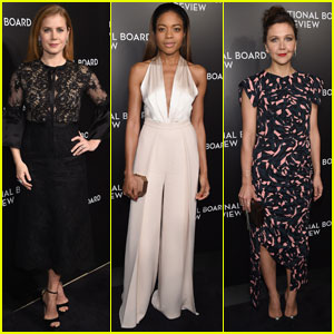 Amy Adams & Naomie Harris Both Win Big at National Board of Review Gala 2017