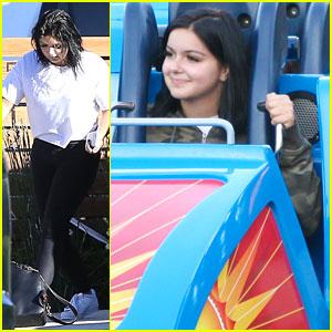 Ariel Winter Goes To Disneyland for Niece's Birthday!