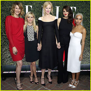 Nicole Kidman & Reese Witherspoon Party with 'Big Little Lies' Co-Stars at 'Elle' Event!