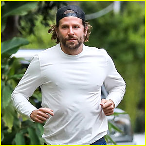 Bradley Cooper Goes for New Year's Day Jog