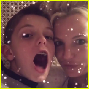 Britney Spears Has a Newfound Love For Snapchat Thanks to Her Sons!