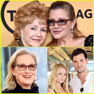 Carrie Fisher & Debbie Reynolds' Memorial Service Guests Include Meryl Streep & More