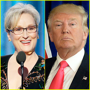 Celebs React to Trump Calling Meryl Streep 'Overrated'