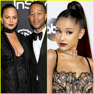 Chrissy Teigen Teases John Legend & Ariana Grande's 'Beauty & the Beast' Duet!