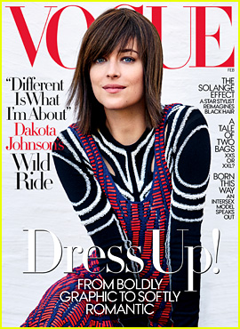 Dakota Johnson Covers 'Vogue,' Calls Anastasia Steele a Badass
