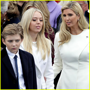 Barron Trump Joins Siblings at Donald Trump's Inauguration (Photos)
