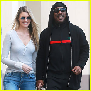 Eddie Murphy Grabs Coffee with Girlfriend Paige Butcher