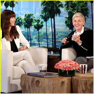 VIDEO: Ellen DeGeneres & Jessica Biel Give Justin Timberlake a Surprise Phone Call!